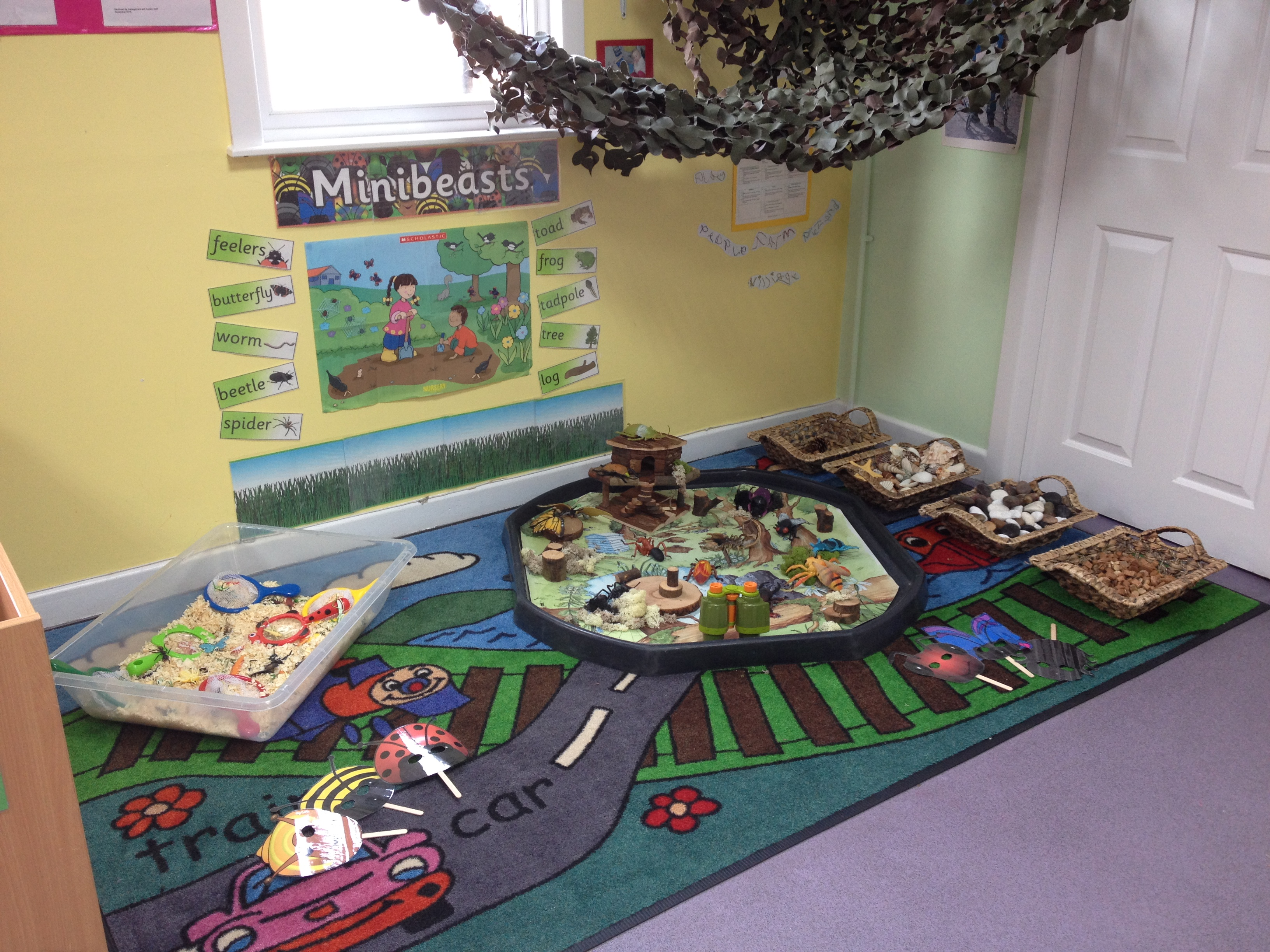 Small World play - Minibeasts